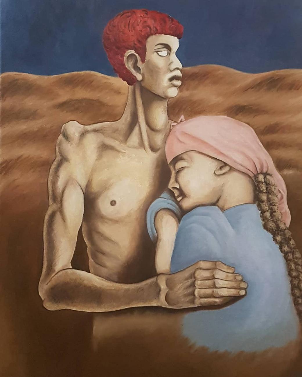 "Copy of ""Adam and Eve"" -Alberto Savin..."