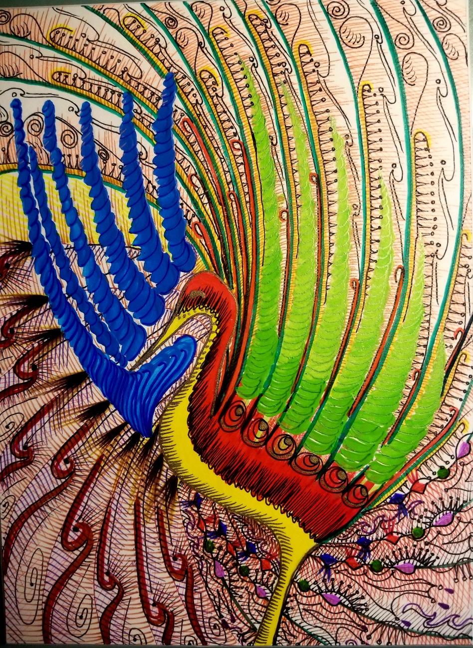 Fiesta bird
